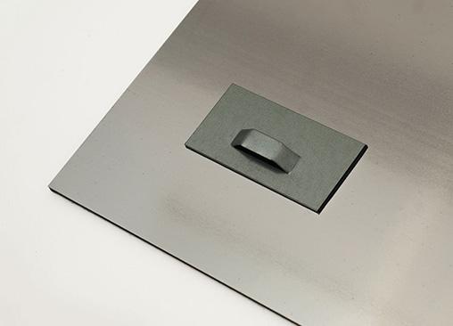 Moldura de alumínio