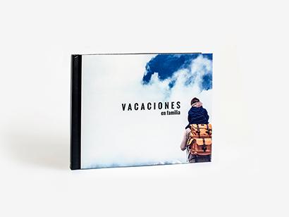 Album apaisado impressão fotográfica
