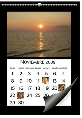 Calendário de parede (30x45)