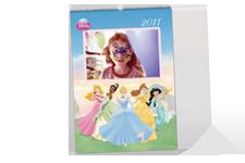 Calendário de parede Princesas Disney (30x45)