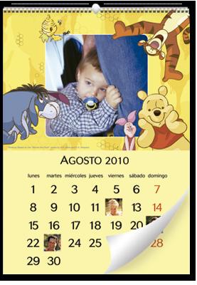 Calendário de parede Winnie the Pooh (30x45)