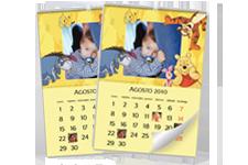 Calendário de parede Winnie the Pooh (22x30)